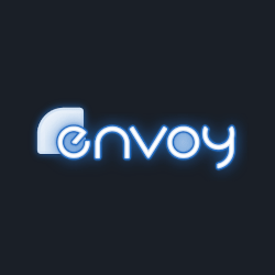 The retouched envoy logo