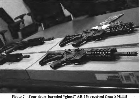 "AR-15-style ""ghost"" rifles"