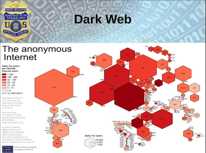 Transcript of an IRS Presentation About the Darkweb and