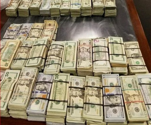 Cash Seized in Pharma-Master Case