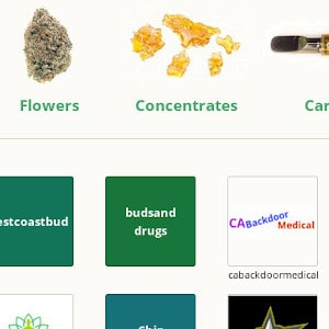 The CannaHome homepage