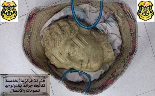 Archaeological Artifact Traffickers Caught in Tunisia