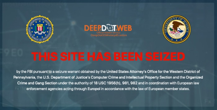 The Current DeepDotWeb Homepage