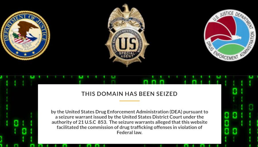 The DEA Banner on Yan's Site
