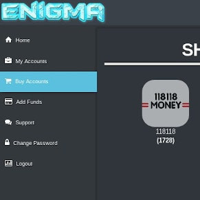 Enigma frontpage