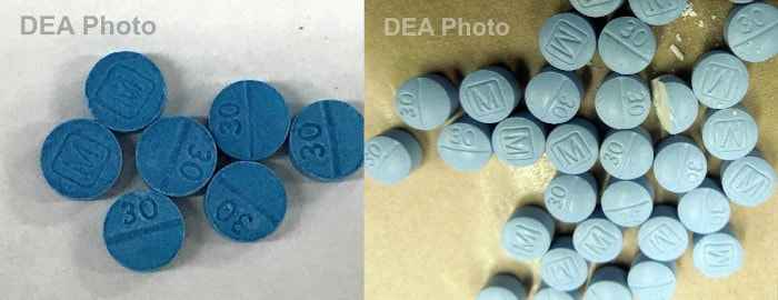 Seized Fentanyl Pills | DEA