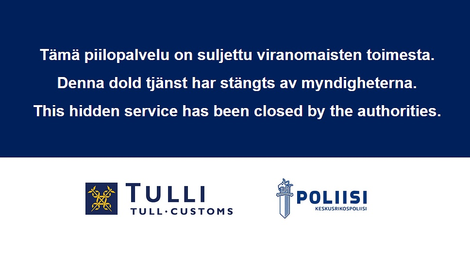 Finnish Customs: Sipulikanava Takedown Statement