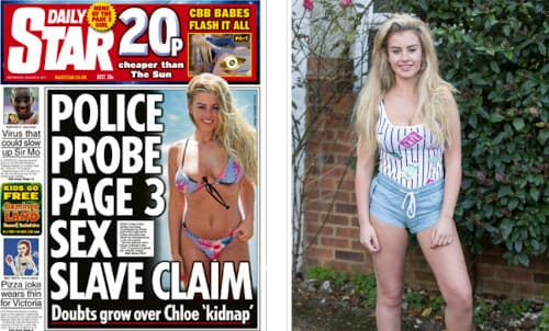 The Daily Star Cover About Aylings Kidnap | Ayling Giving an Interview After the Kidnapping