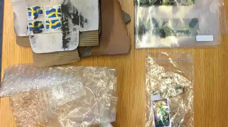 The Police Found Prepared Packaged During the Raid | Credit: expressen.se