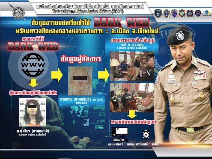 a picture of Austrian Arrested in Thailand for Receiving, Possibly Distributing Child Pornography