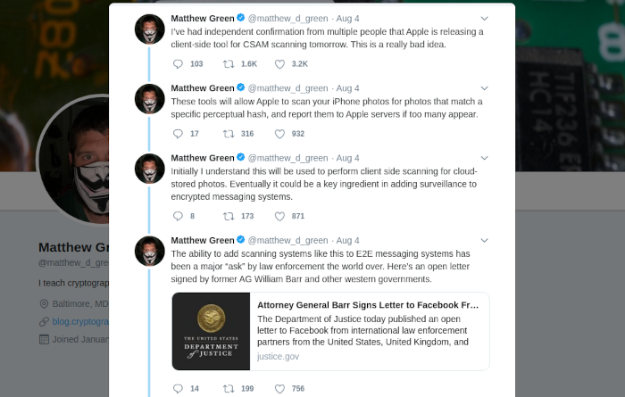 A picture of Green's Twitter thread touches on some of the concerns with this system