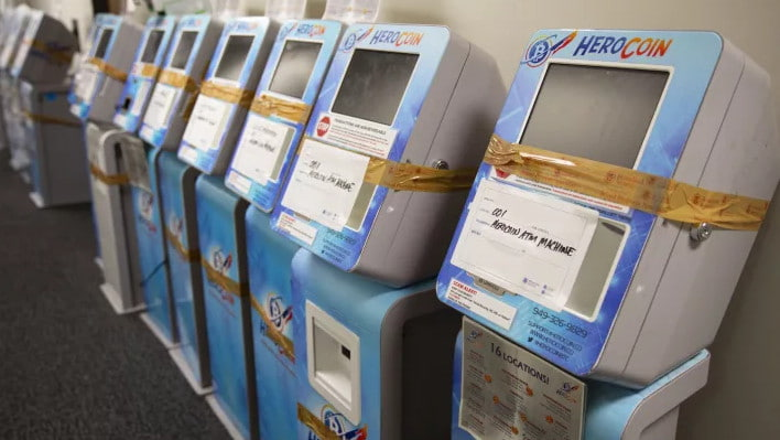 A picture of HeroCoin ATMs