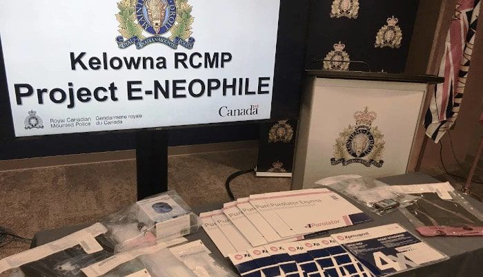 A picture of Evidence seized during the investigation into Nelson and Bonthoux