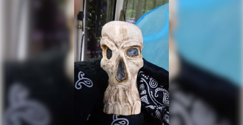 A picture of Rawjack2 had this picture of a skull as his profile picture on Dream Market.