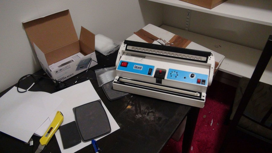 A picture of Packaging equipment used by the group.