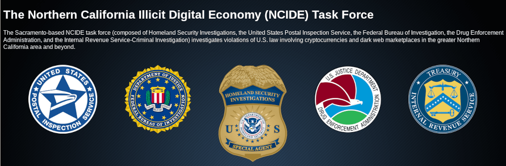 A picture of The task force consists of a number of federal law enforcement agencies.