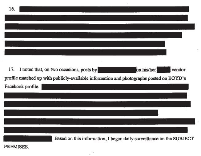 A picture of This is obviously a normal amount of redaction for a case this simple.